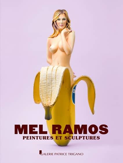<b>Mel Ramos </b><br>Peintures et sculptures