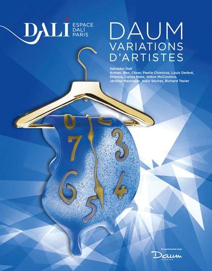 <b>Musée Dali </b><br>Daum – variations d'artistes