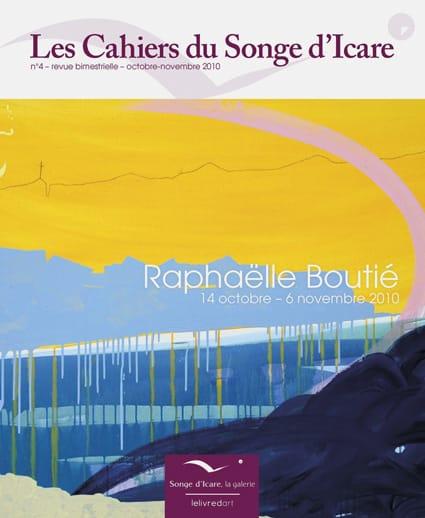 <b>Les Cahiers du Songe d'Icare </b><br>Raphaëlle Boutié