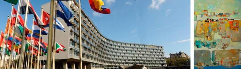 Exposition Guermaz à l'Unesco