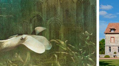 Exposition Roland Cat au château de Vascoeuil
