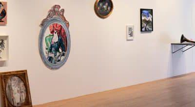Béatrice Meunier à l'exposition Tableaux fantômes au MUba de Tourcoing