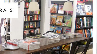 Signature du livre Ar(t)bre à la librairie du BHV / Marais