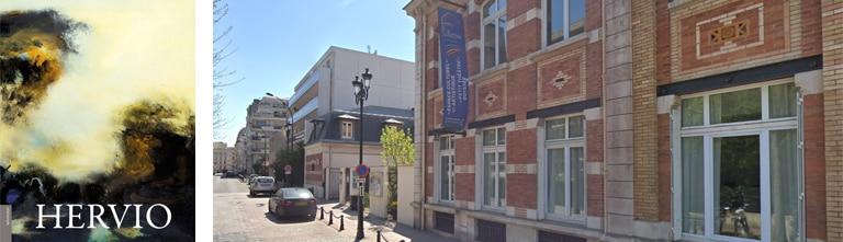 Exposition Hervio à la galerie de L'Escale (Levallois)