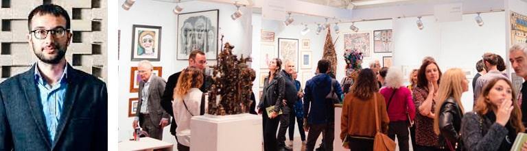 Raphaël Koenig dédicacera le livre Cérès Franco à l'Outsider Art Fair