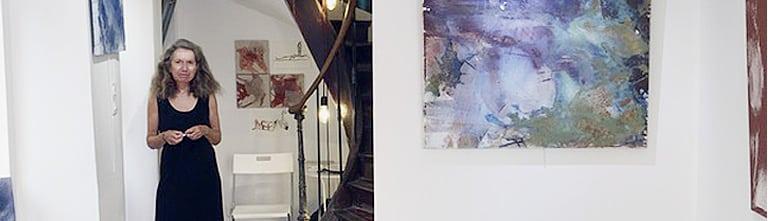 Exposition Bertille de Baudinière au LM Studio (Hyères)